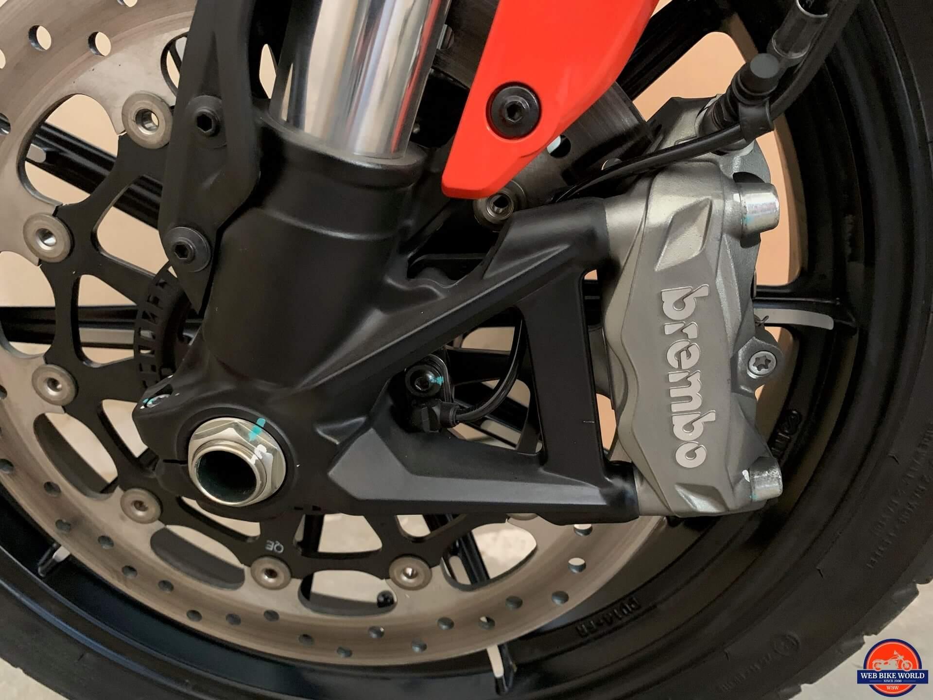 2019 Ducati Scrambler Icon brakes