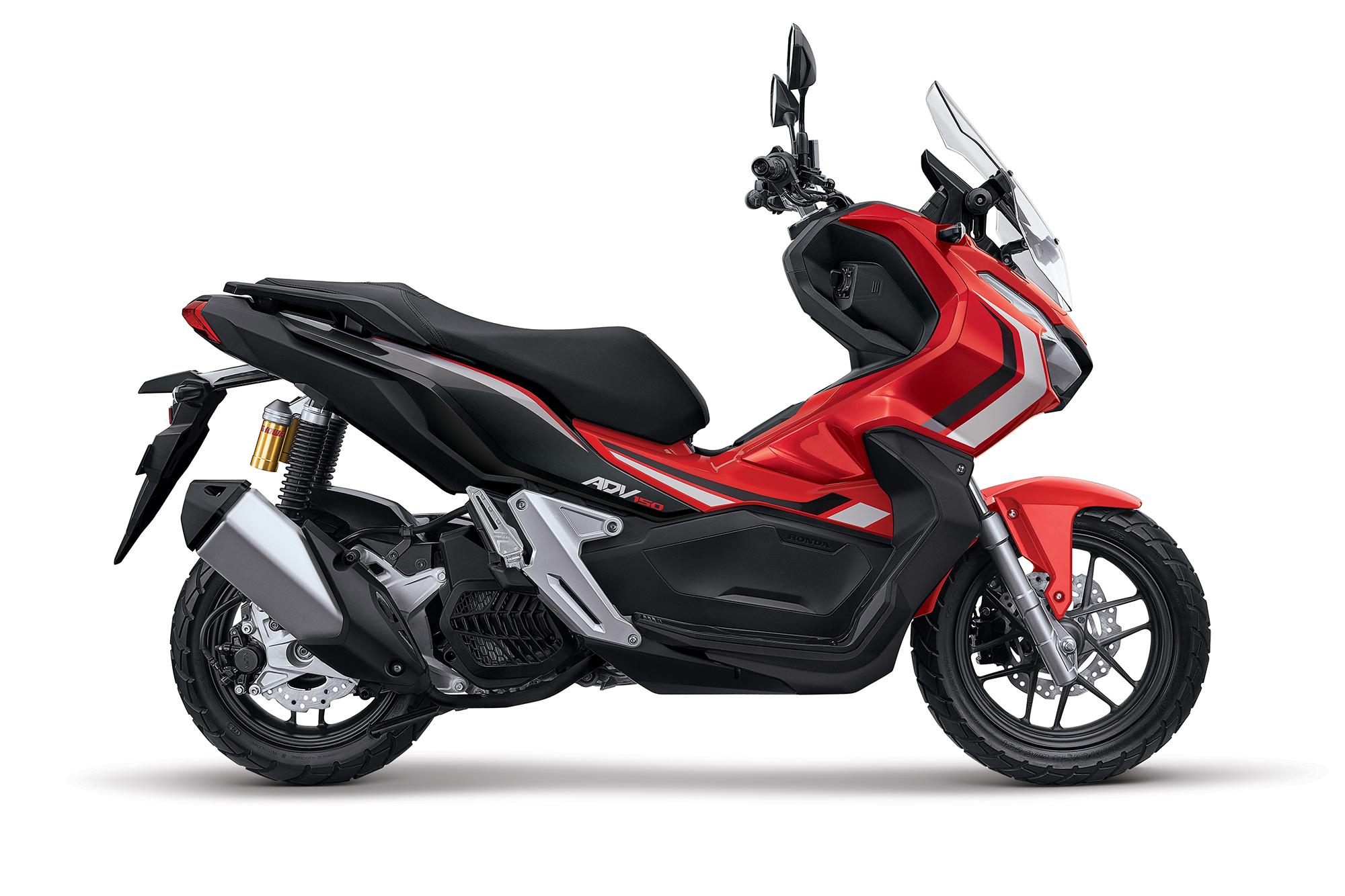 honda releases  smaller  adv  scooter webbikeworld