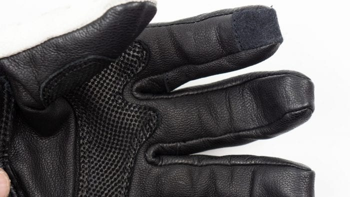 Knox Nexos Gloves palm & finger closeup