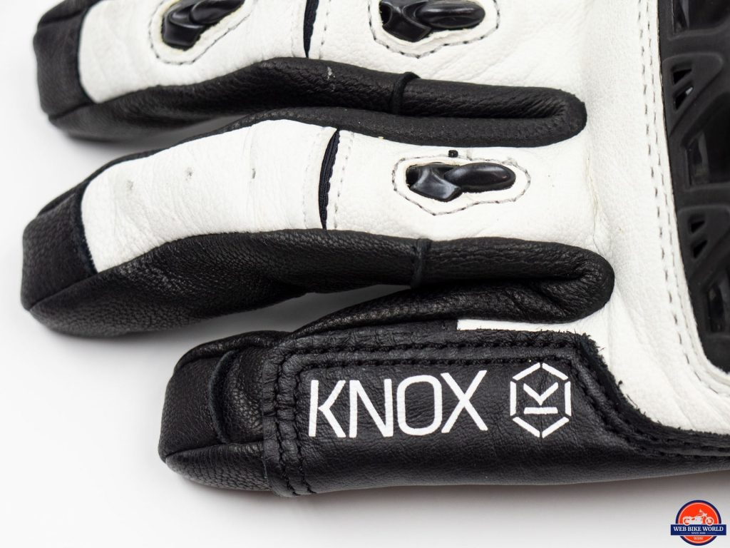Knox Nexos Gloves finger closeup