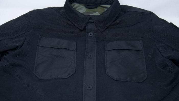 REV'IT! Tracer Air Overshirt front detail