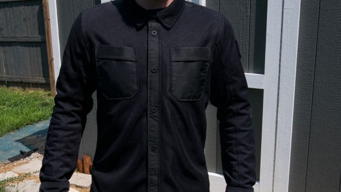 REV'IT! Tracer Air Overshirt front view