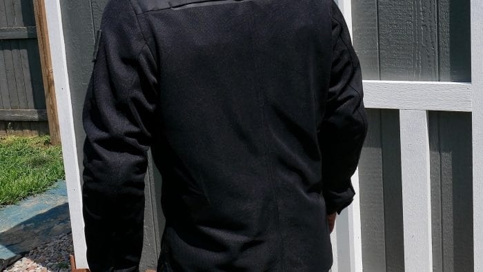REV'IT! Tracer Air Overshirt rear view