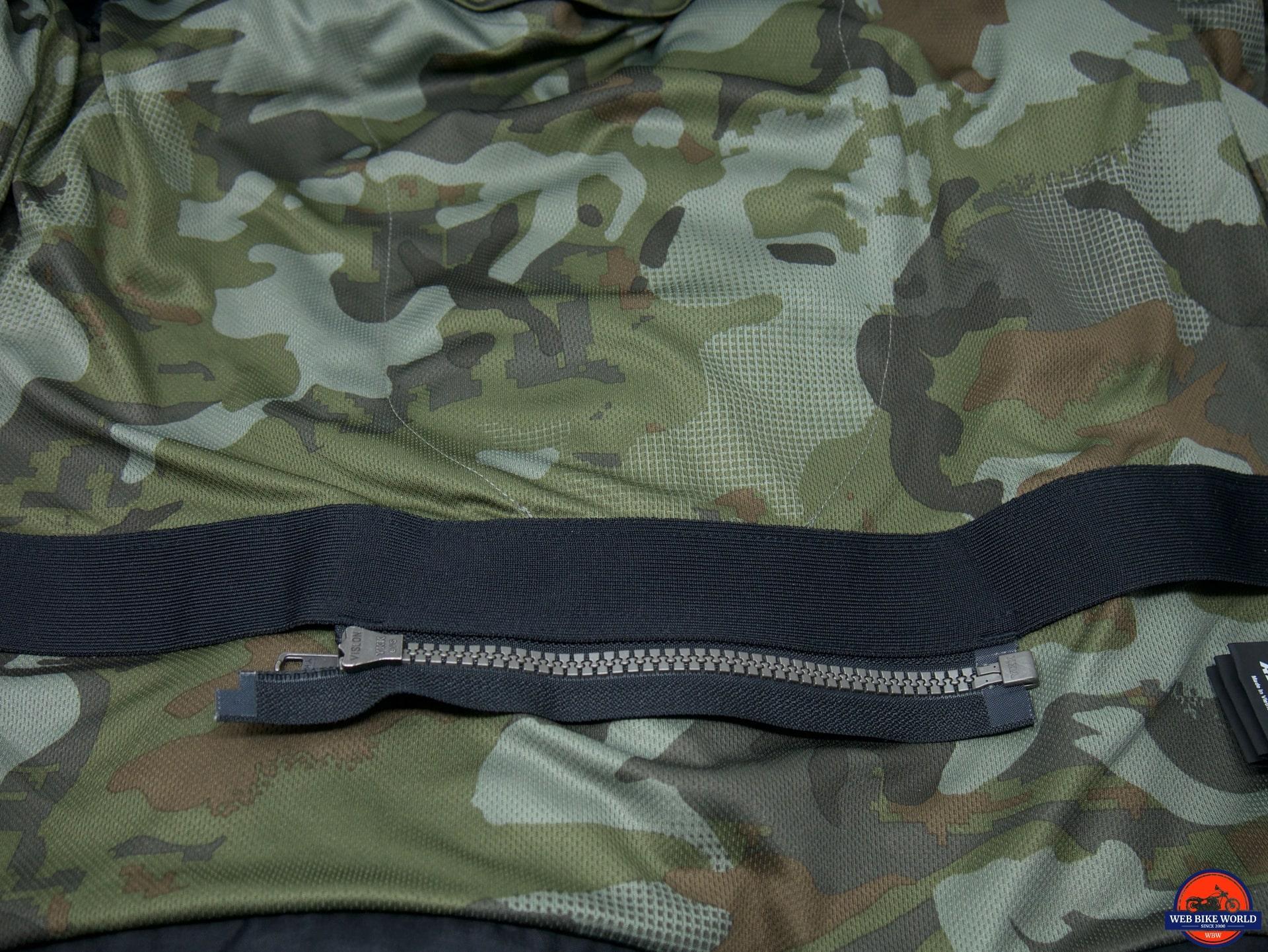 REV'IT Tracer Air Overshirt inner mesh lining