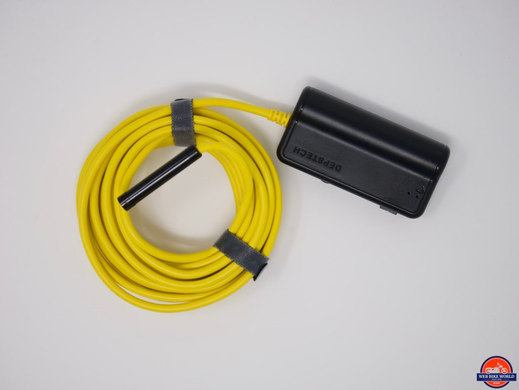 Depstech Inspection Camera top view