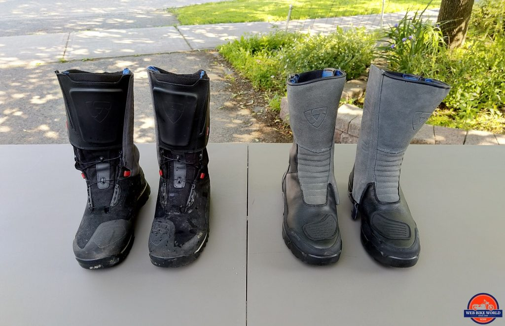 REV'IT! Gravel OutDry Boots vs. the REV'IT! Discovery OutDry Boots
