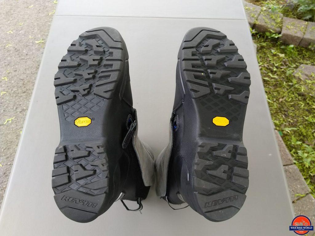 REV'IT! Gravel OutDry Boots rubber soles