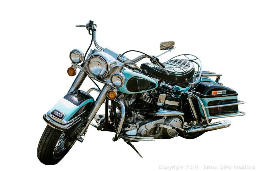 Presley's Harley Electra Glide