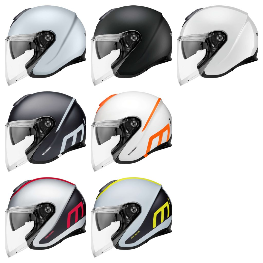 Schuberth M1 Pro colorways