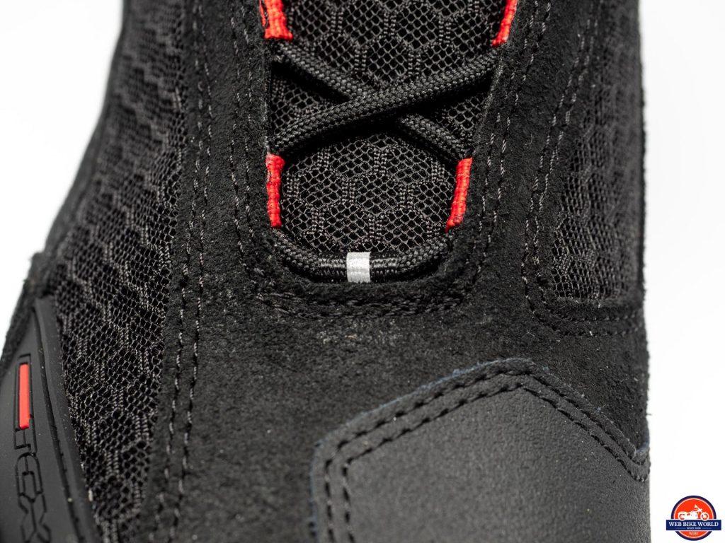 TCX Vibe Air Boots padded mesh closeup