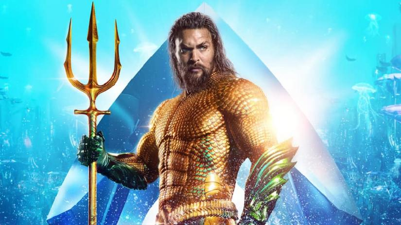 Jason Momoa as Aquaman.
