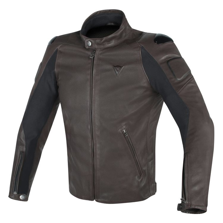 Dainese Street Darker Perforated Leather Jacket