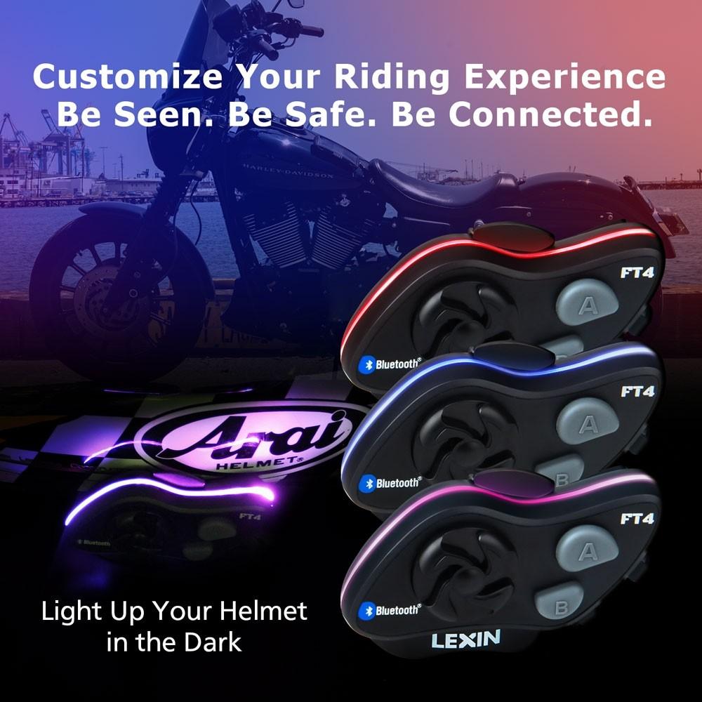 Lexin FT4 LED light options.