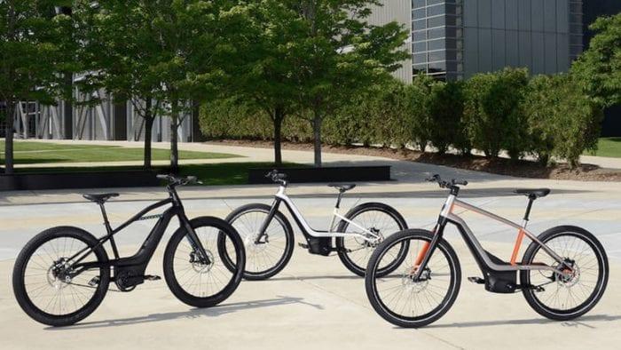 Harley e-bikes
