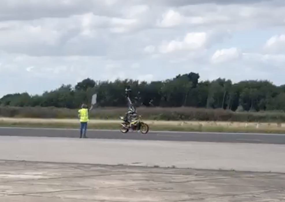 headstand motorcycle world record