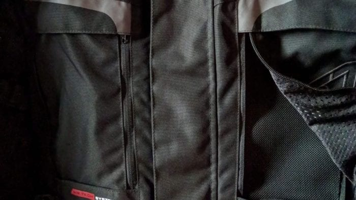 RST Pro Series Adventure 3 Textile Jacket chest vents