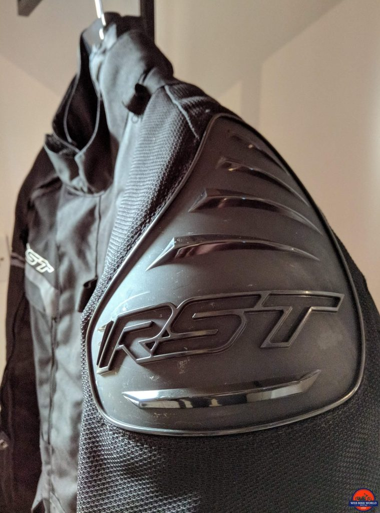 RST Pro Series Adventure 3 Textile Jacket shoulder protector