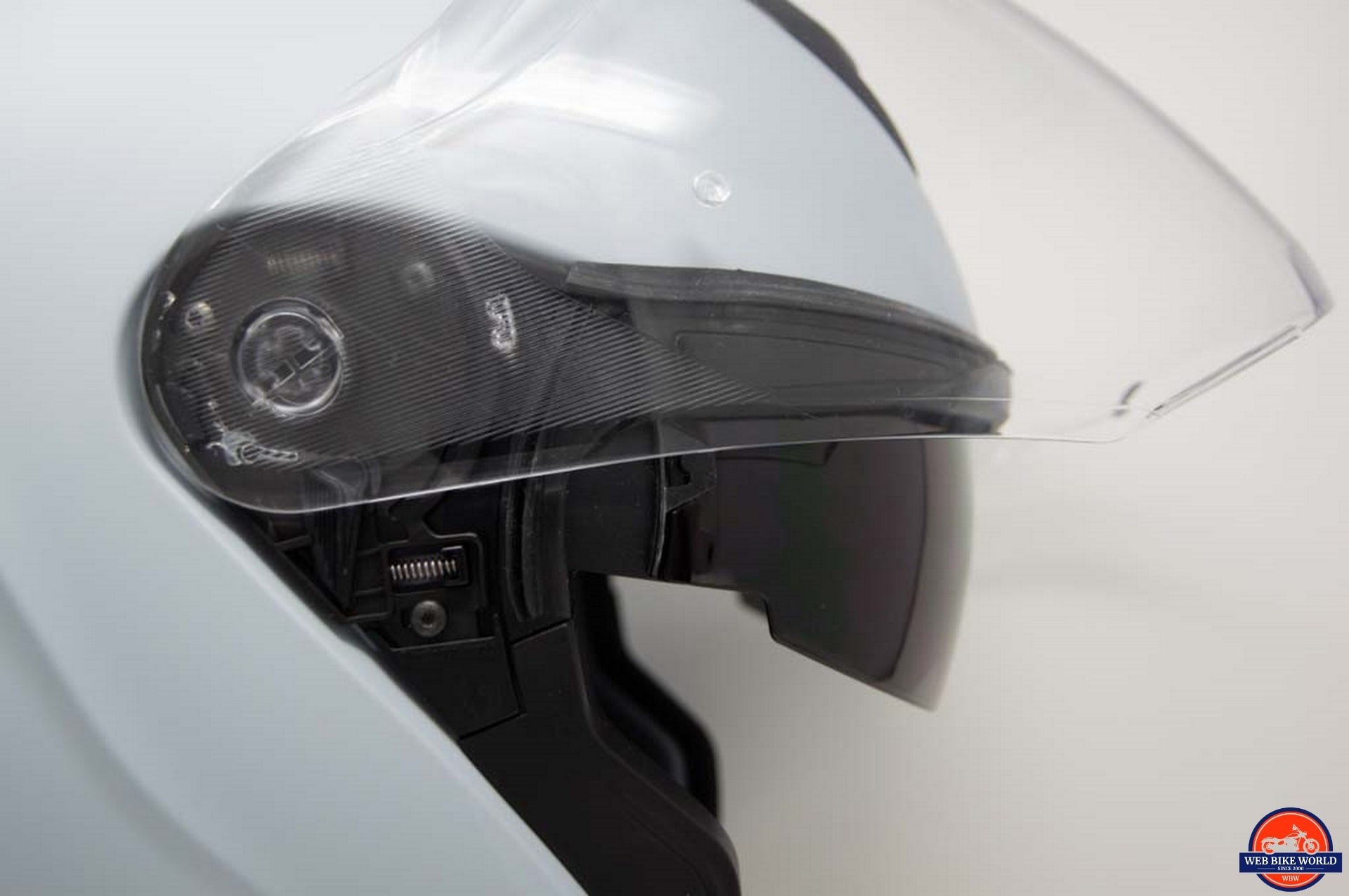 Schuberth M1 Pro visor open