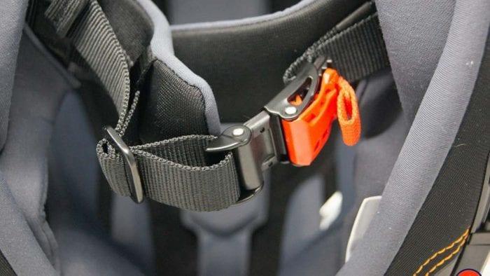 Schuberth M1 Pro quick release micro lock chin strap buckle