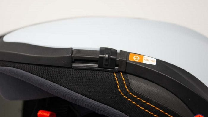 Schuberth M1 Pro visor slide mechanism