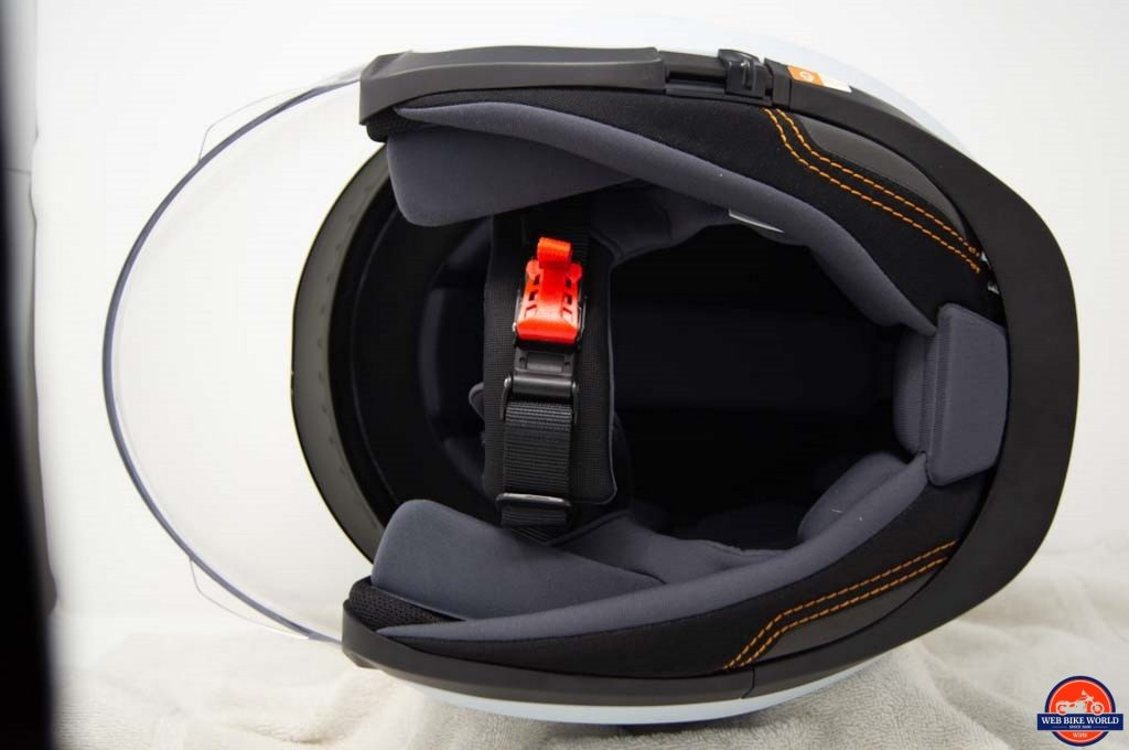 Schuberth M1 Pro interior shot