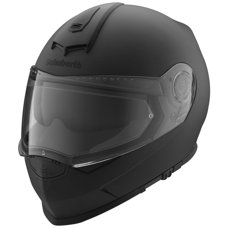 Schuberth S2 Sport Helmet in Matte Black