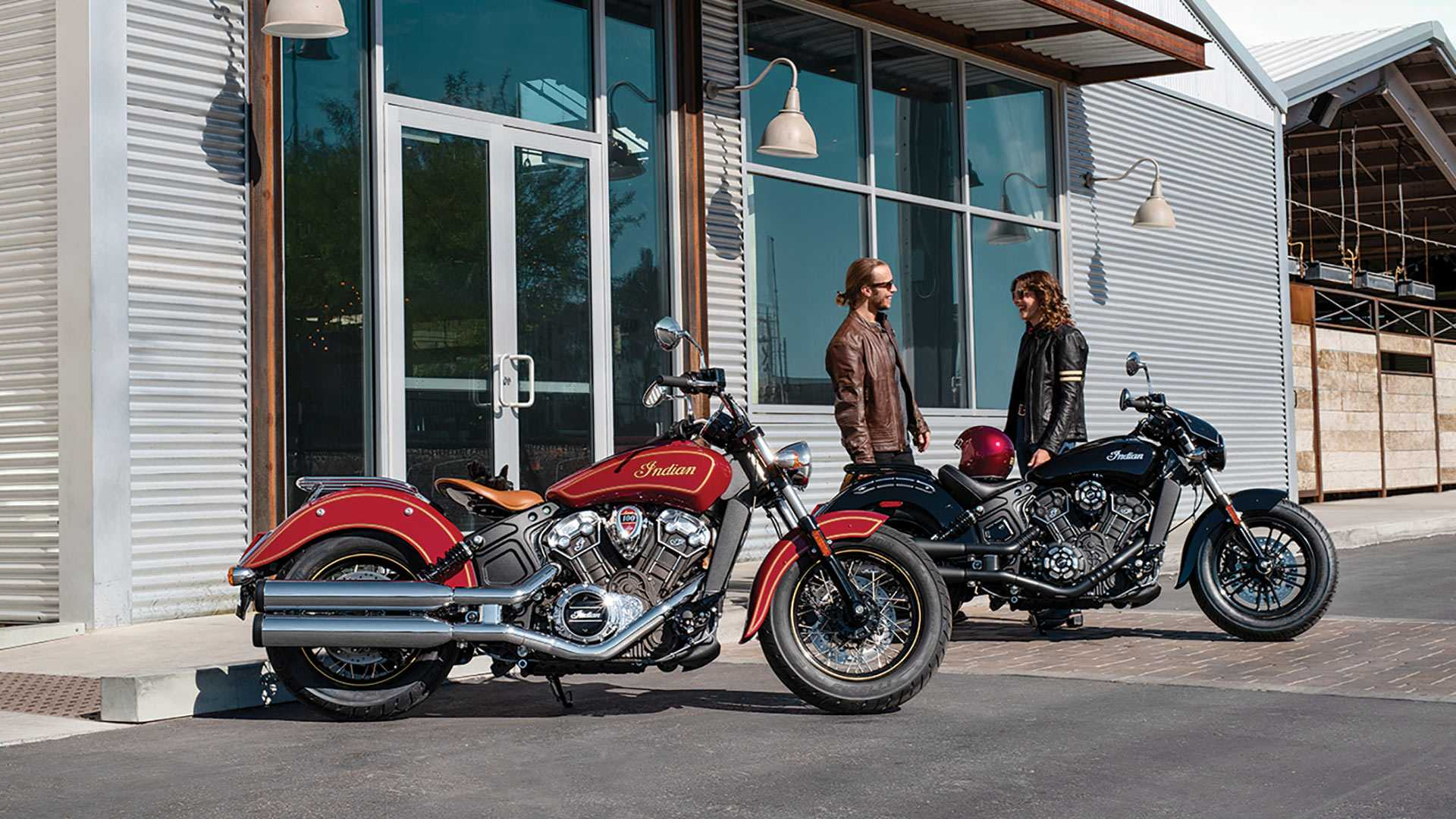 2020 Indian Scout 100th anniversary edition motorcycle