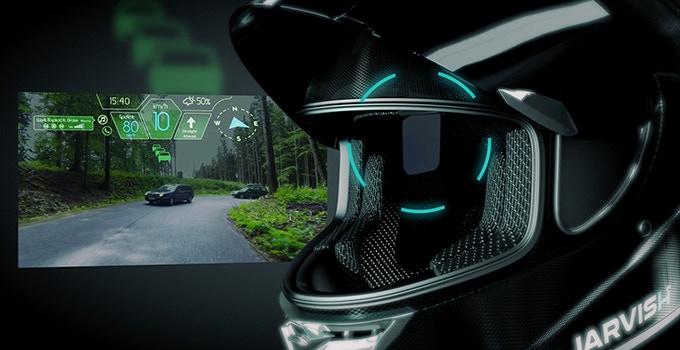 Jarvish smart helmet features