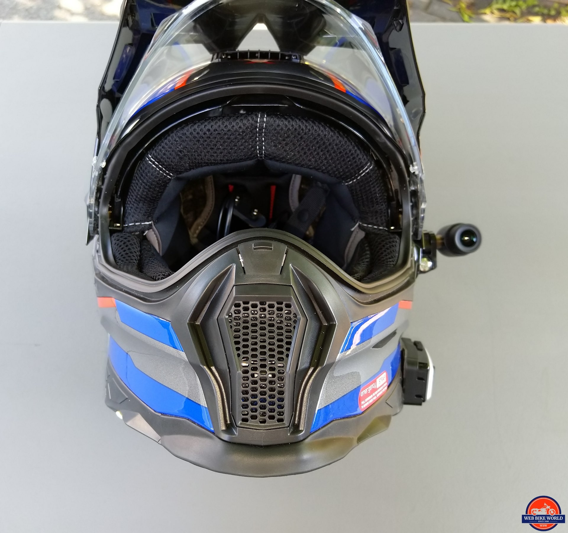 NEXX X-Patrol Helmet with BK-T1 Headset integration and INNOVV C5 camera integration