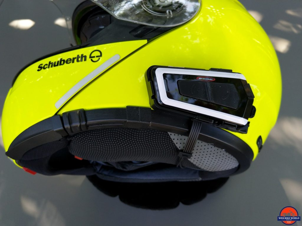 Bikecomm BK-T1 Bluetooth Headset - installation on SCHUBERTH C3 Pro