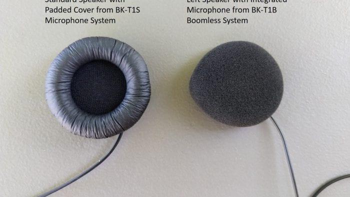Bikecomm BK-T1 Bluetooth Headset - BK-T1S & BK-T1B speaker system