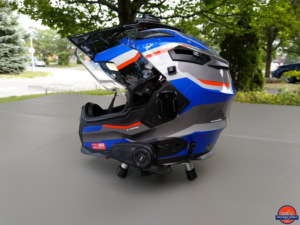 EJEAS Quick 20 Bluetooth Helmet System installed on NEXX X.WED2 Patrol Helmet