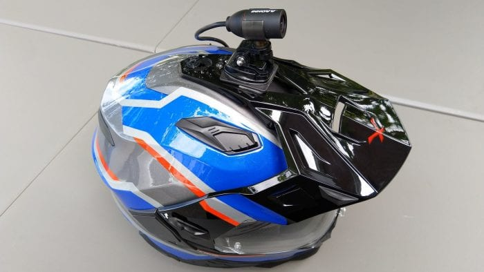 INNOVV C5 Helmet Camera - top mount