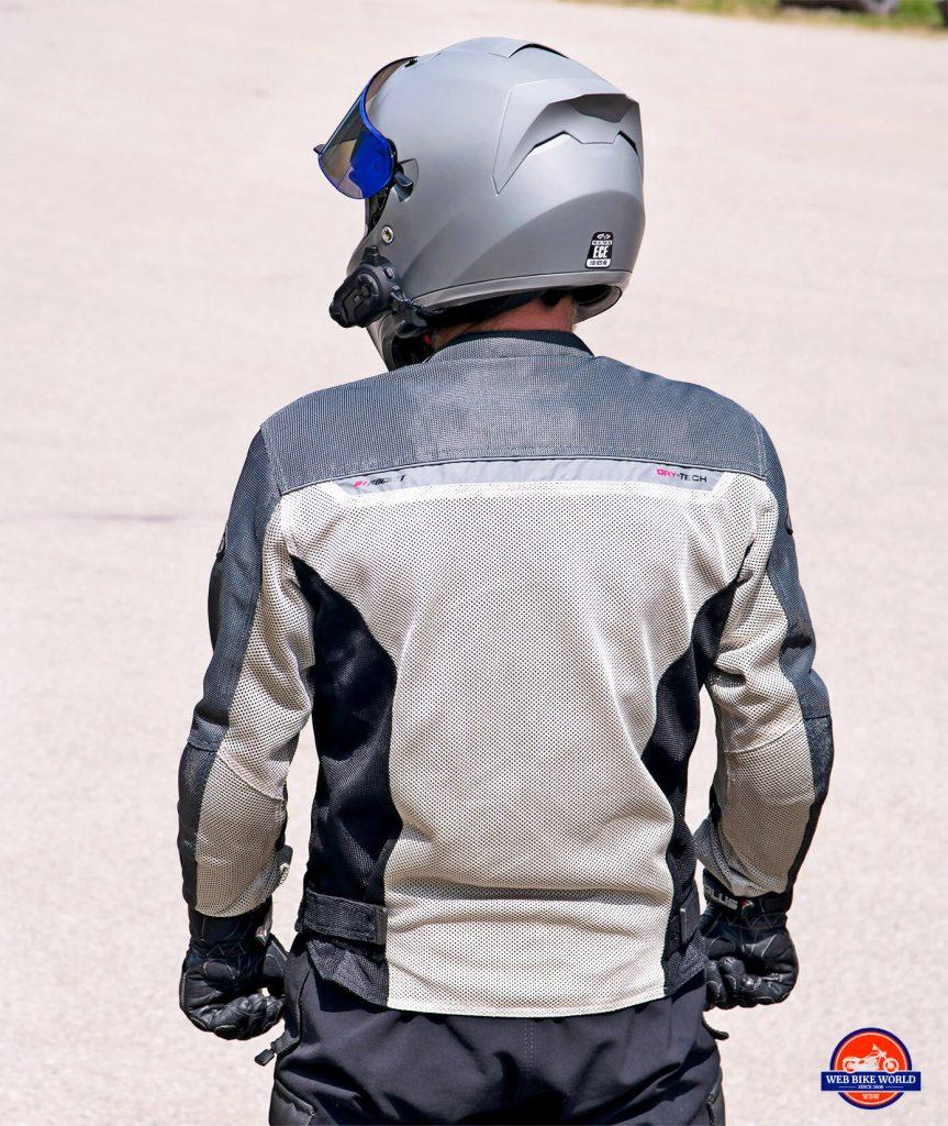 The Joe Rocket Canada Alter Ego 14.0 jacket mesh layer.