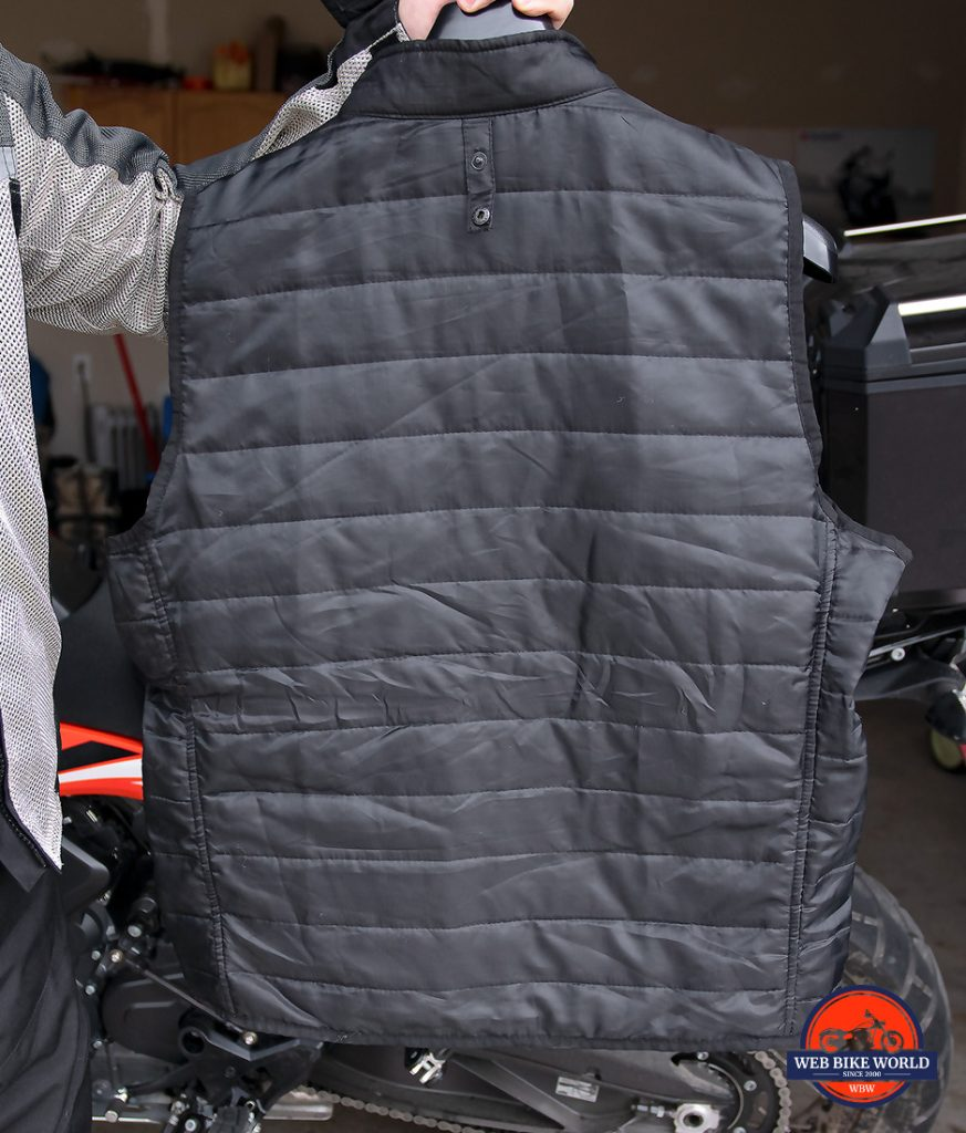 The thermal vest layer from the Joe Rocket Canada Alter Ego 14.0 jacket.