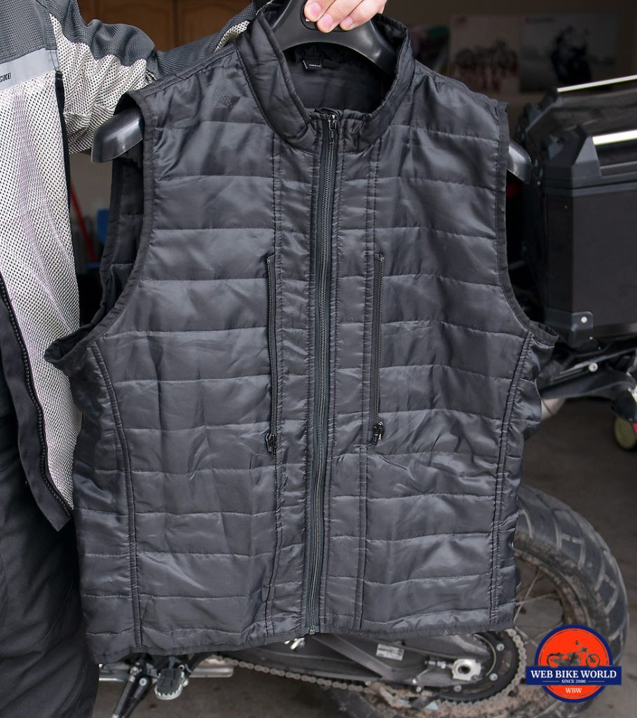 The Joe Rocket Canada Alter Ego 14.0 jacket thermal vest layer.