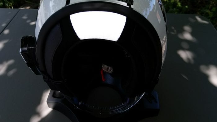 LS2 VERSO Mobile Helmet rear reflective insert
