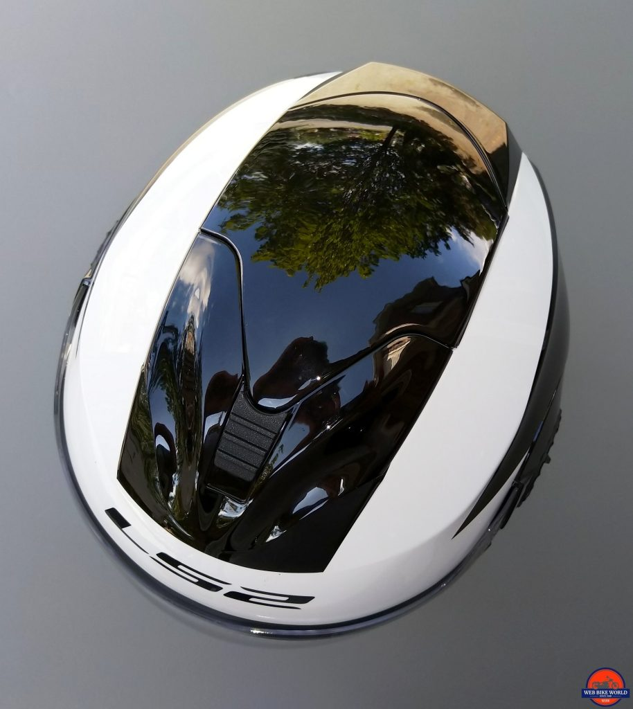 LS2 VERSO Mobile Helmet top-down view of pieces