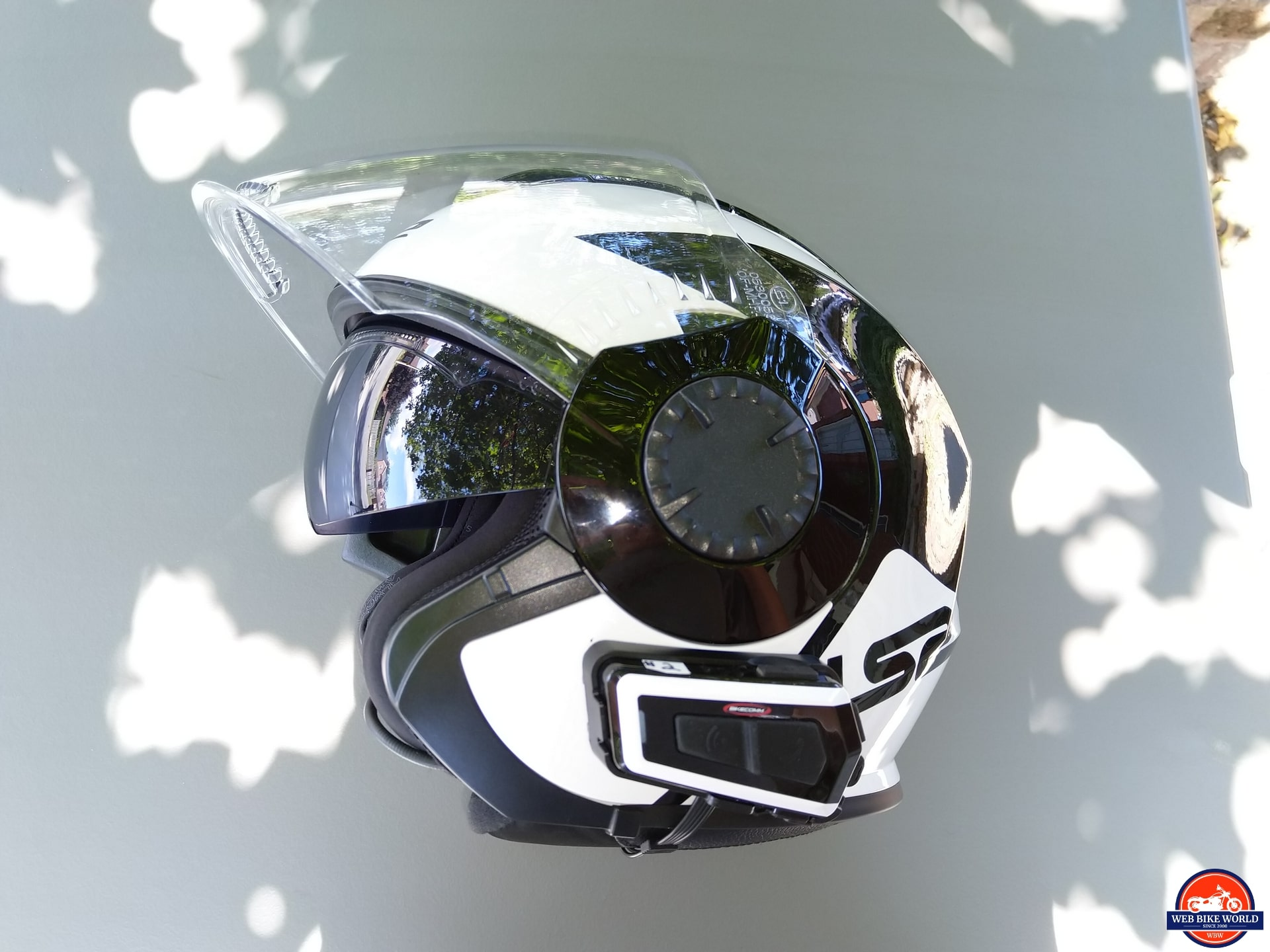 LS2 VERSO Mobile Helmet full-face visor and sun visor