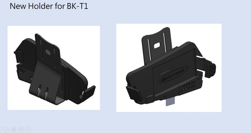 Bikecomm BK-T1 Bluetooth Headset - new BK-T1 holder