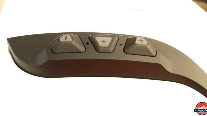 Sena Momentum Pro Helmet - Bluetooth Button Panel