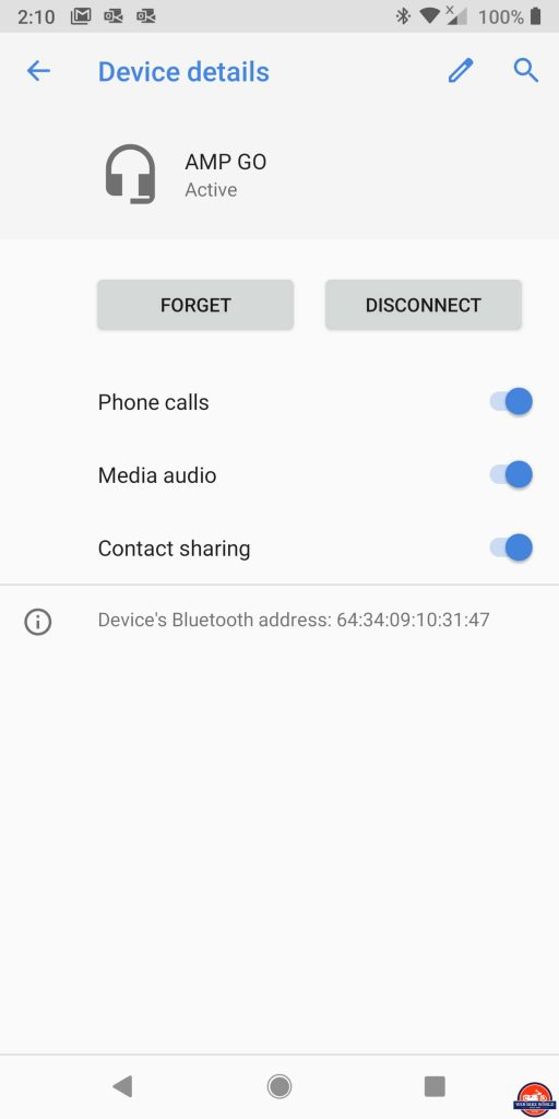 UClear AMP Go BT System Phone Connectivity