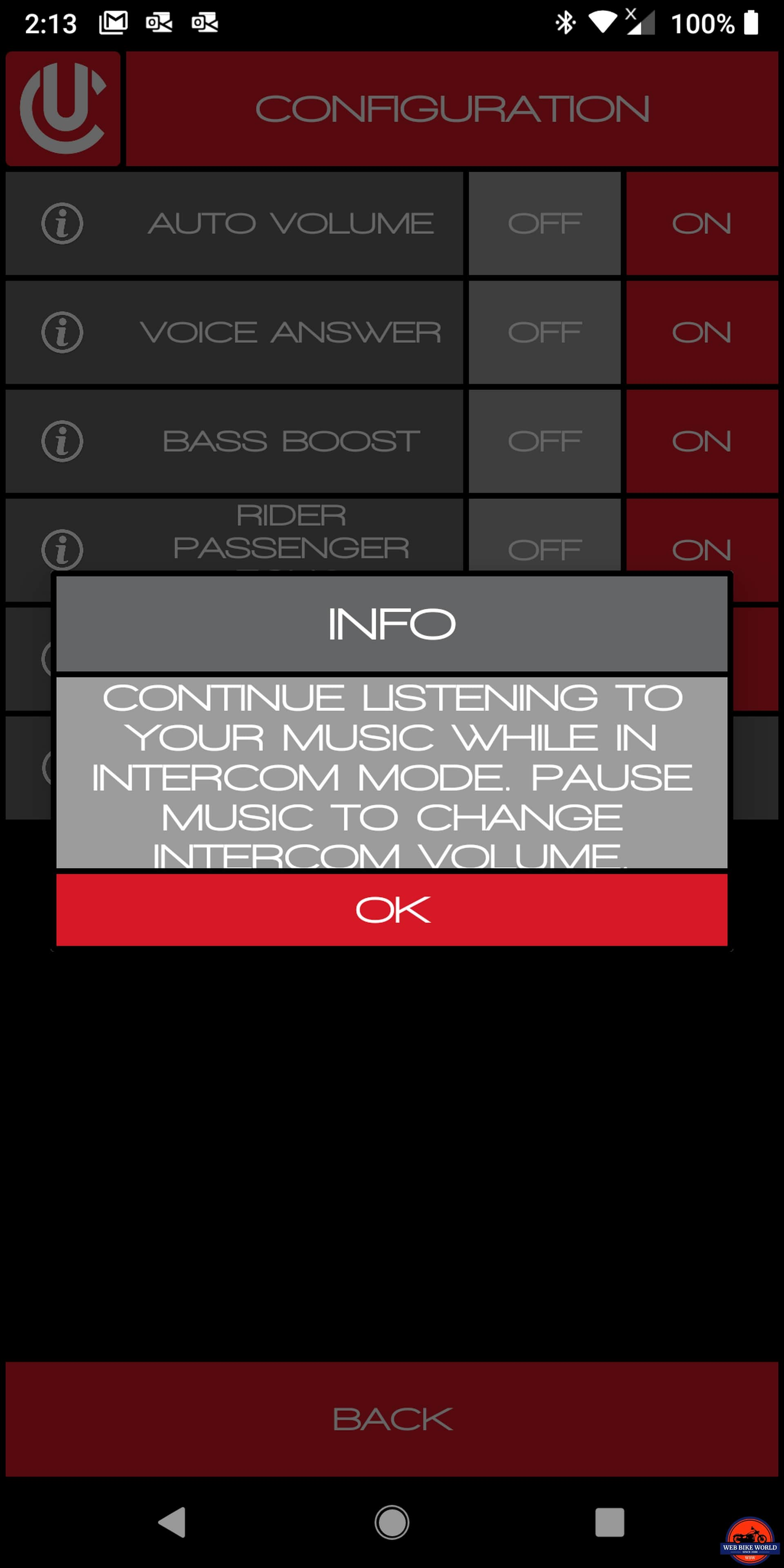 UClear AMP Go BT System firmware update allows music simultaneously with intercom
