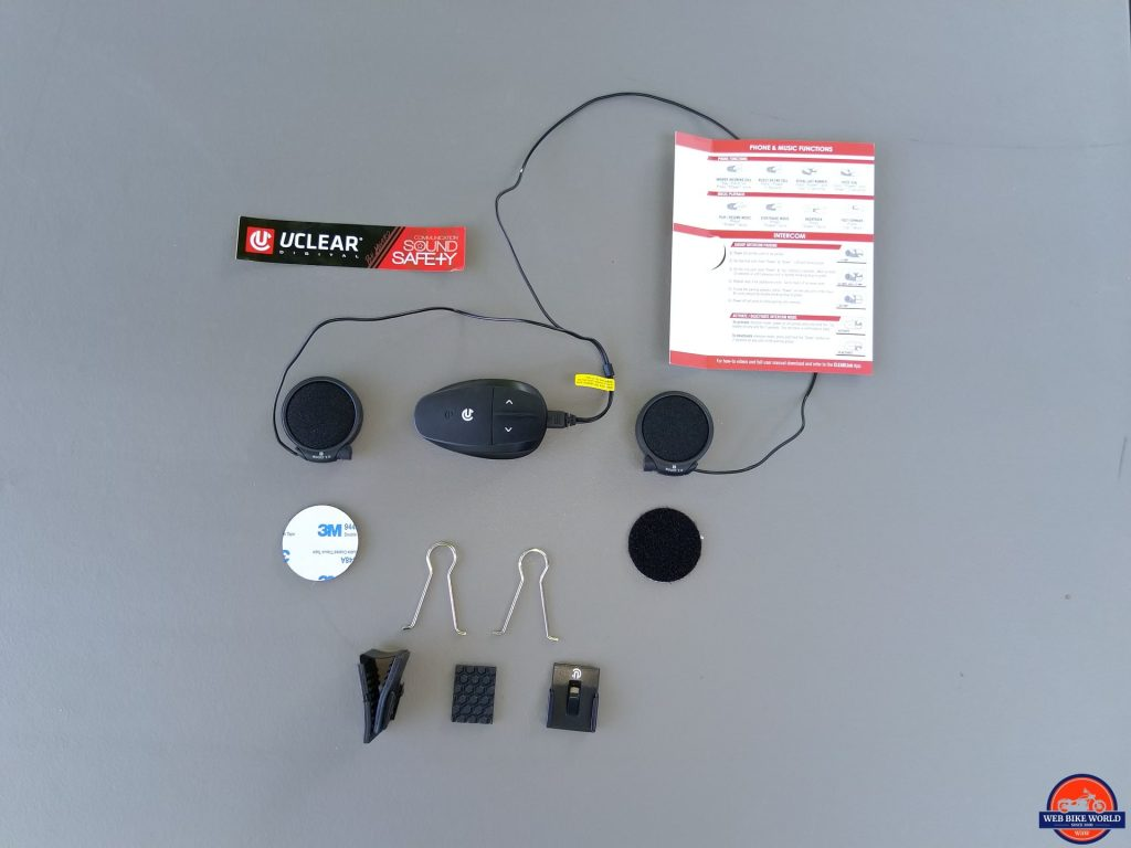 UClear AMP Go BT System layout kit