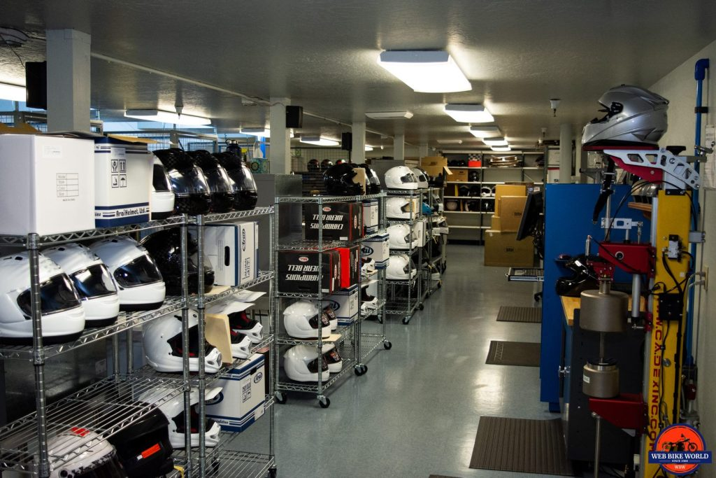 Inside the Snell Laboratory.