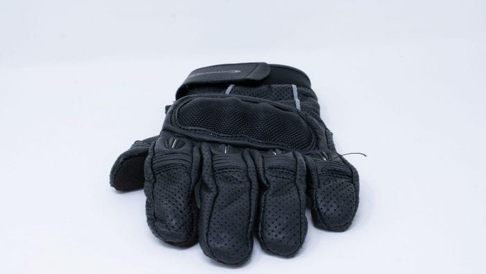 motonation campeon leather glove fingers
