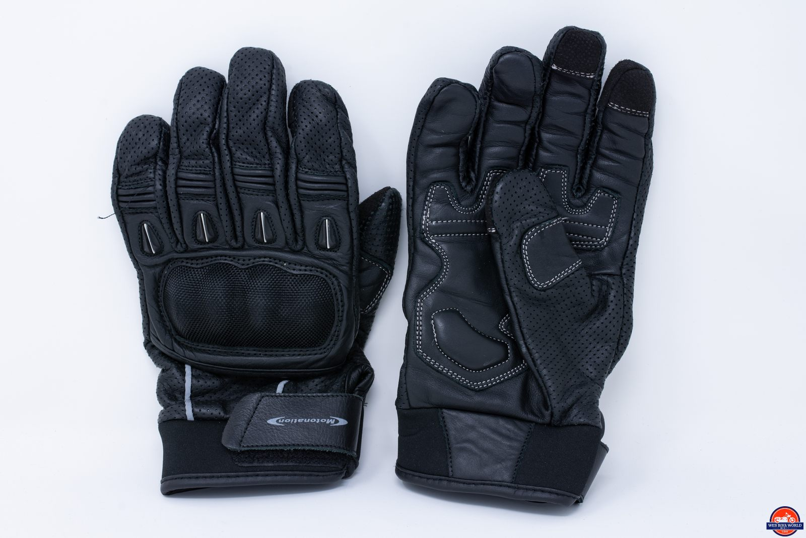 Motonation Campeon Leather Motorcycle Gloves