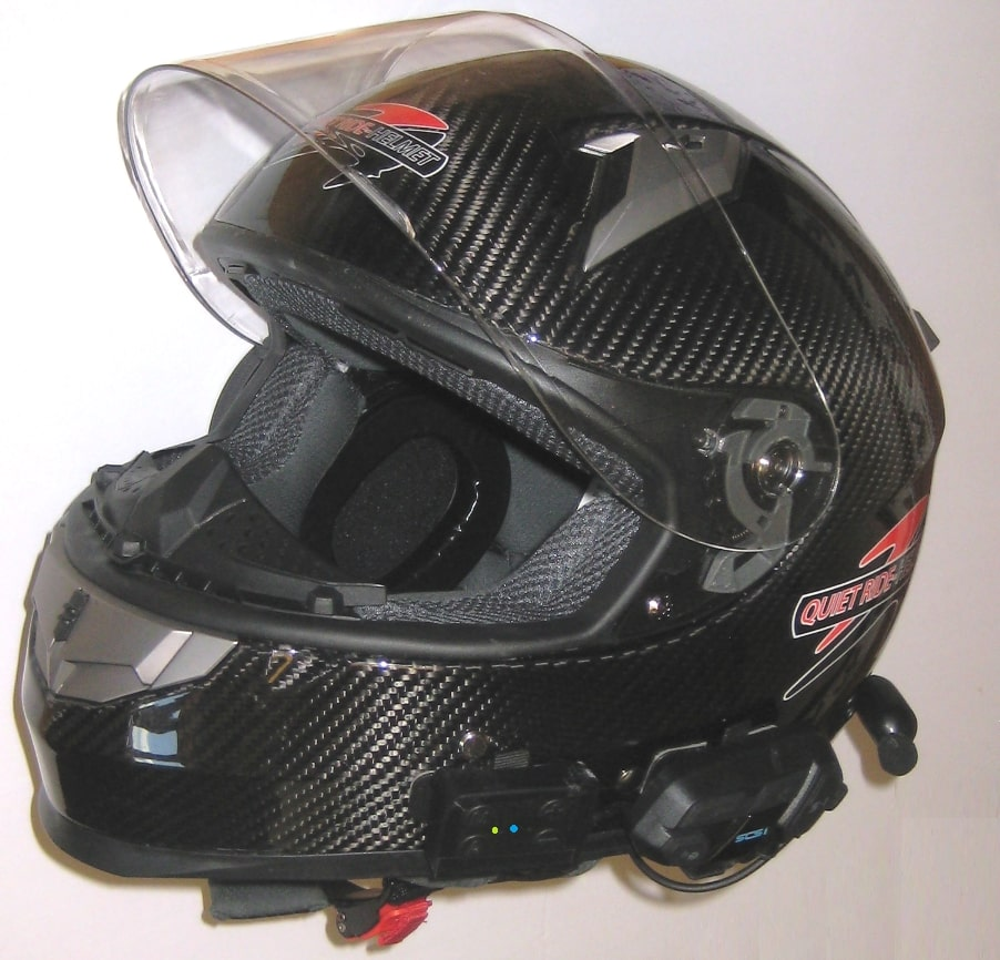Quiet Ride helmet