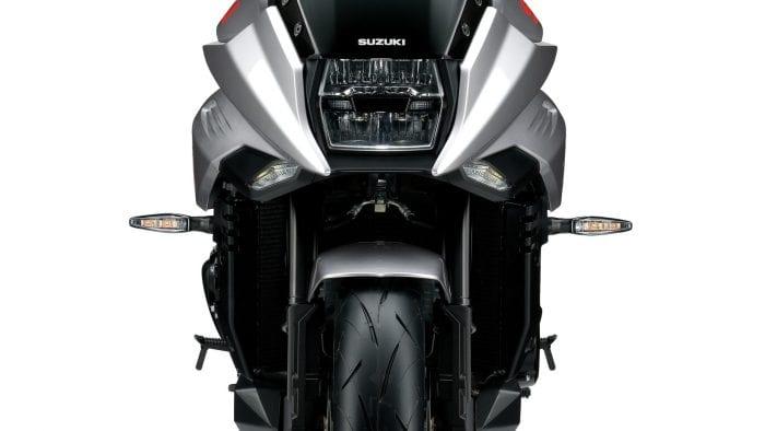 2020 Metallic Mystic Silver Suzuki Katana