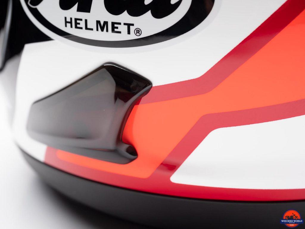 Arai Corsair-X Rea 5 Graphic Helmet lower exhaust vent